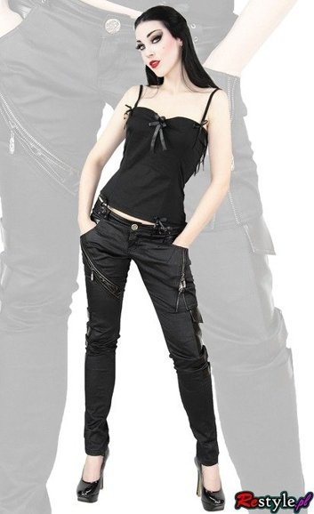 PUNK RAVE K-105 skinny pants trousers