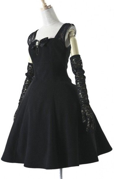 Pyon Pyon LQ-030 Hepburn dress retro elegance